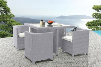 salon de jardin en teck chez leclerc des. Black Bedroom Furniture Sets. Home Design Ideas