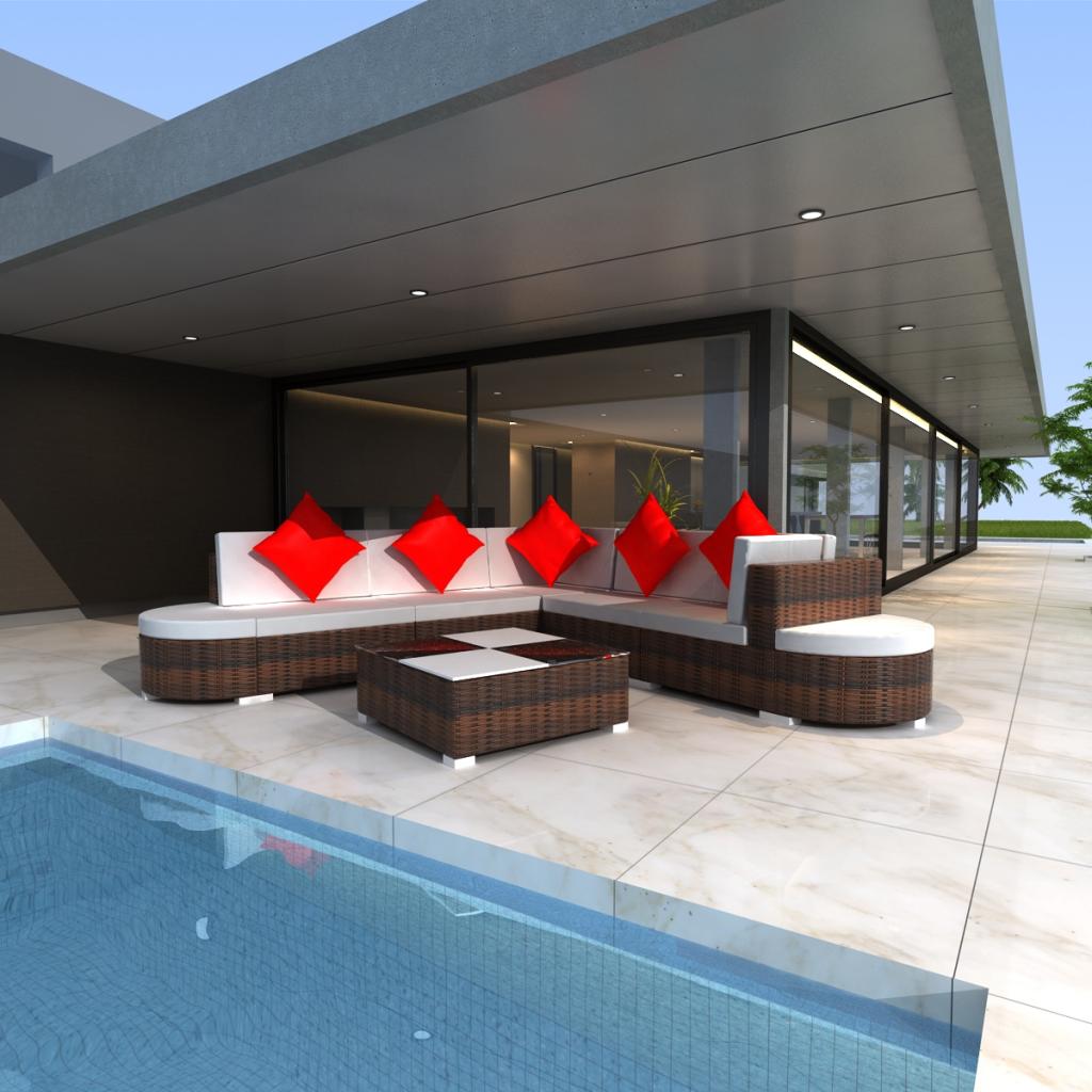 Best Salon De Jardin En Rotin Demi Cercle Gallery - Amazing House ...