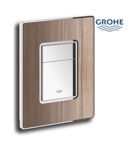 grohe plaque de commande wc 38849ht0 olive. Black Bedroom Furniture Sets. Home Design Ideas