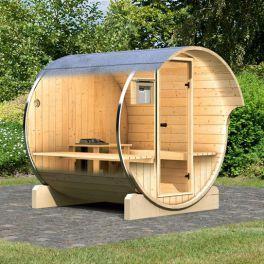 Catgorie sauna du guide et comparateur d 39 achat for Sauna vapeur exterieur