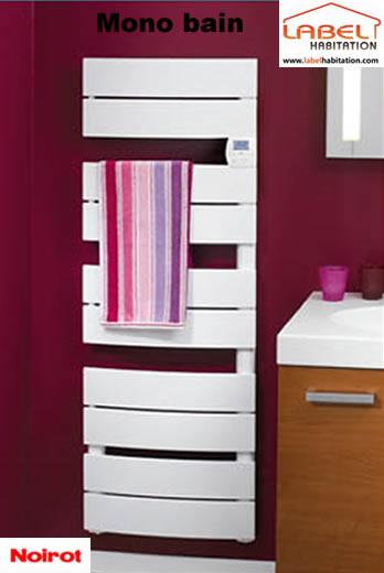 noirot cs che serviette mono bain 480w 45cm. Black Bedroom Furniture Sets. Home Design Ideas