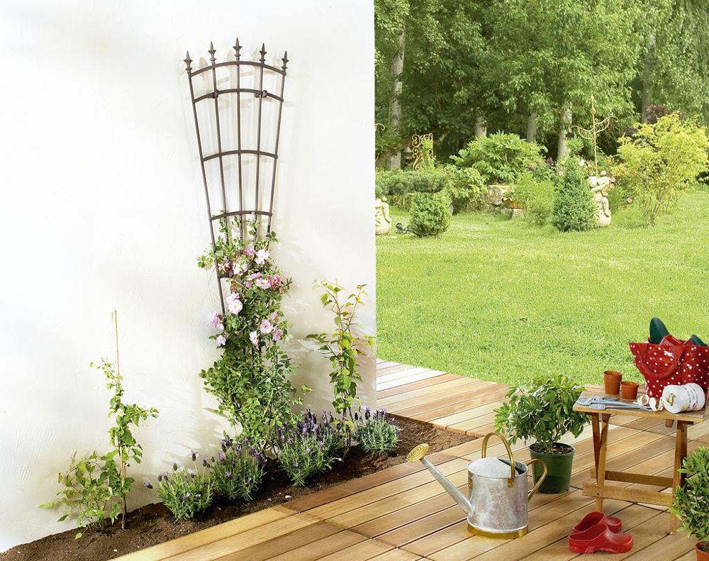 intermas treillis royal pour plantes en m tal 61x150cm m ta. Black Bedroom Furniture Sets. Home Design Ideas