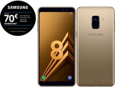 Samsung Galaxy A8 - Or Topaze