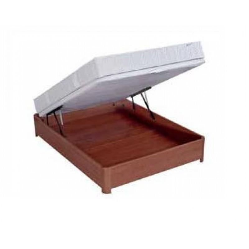 bultex clit coffre madera cerisier 140x190. Black Bedroom Furniture Sets. Home Design Ideas