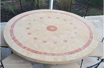 Catgorie table de jardin page 2 du guide et comparateur d 39 achat - Table de jardin ronde dessus mosaique ...