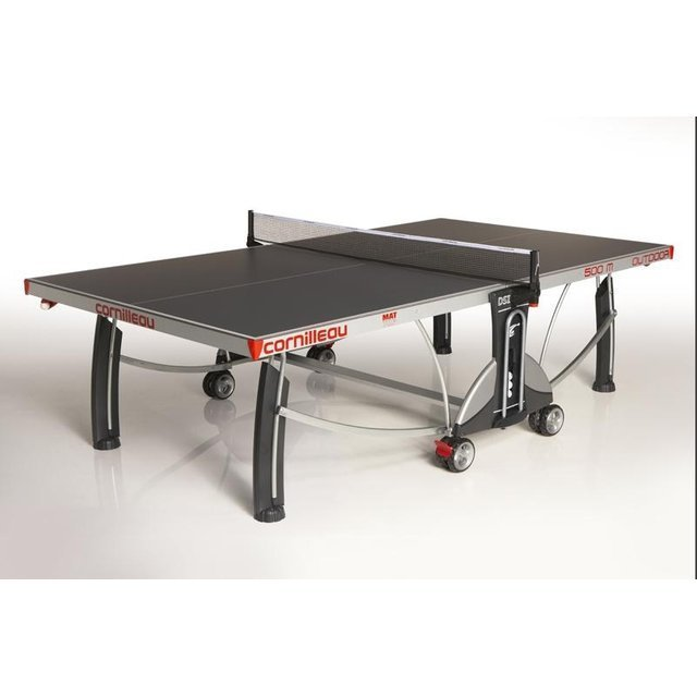 Cornilleau table de ping pong outdoor sport 500m outdoor gri - Table de ping pong go sport ...