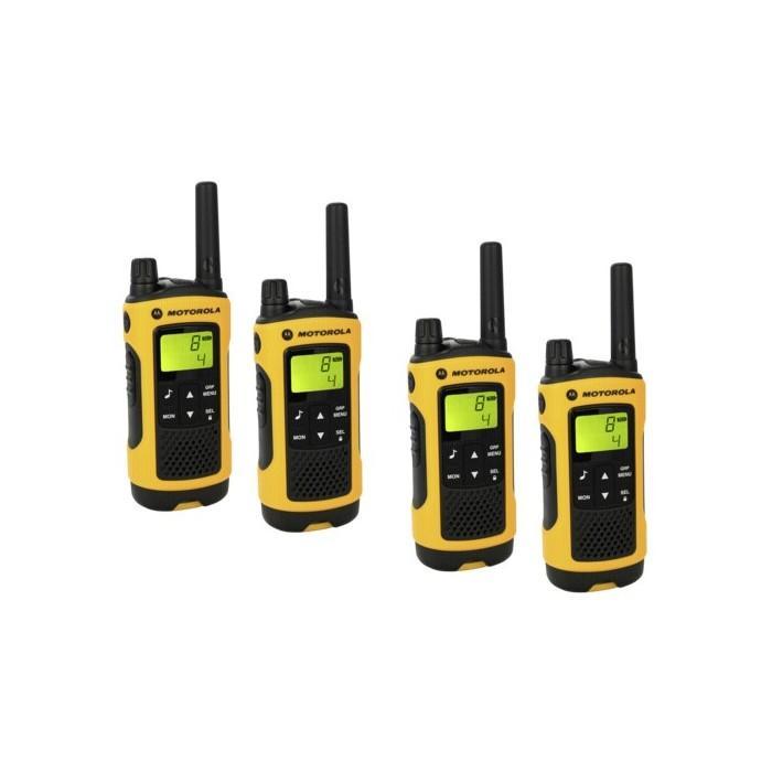 Motorola tlkr t80 extreme quadpack catgorie talkie walkie - Oreillette talkie walkie motorola ...