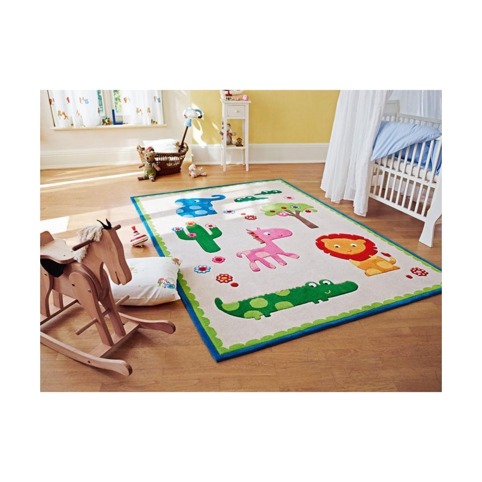 Esprit ctapis enfant zoo beige home for Tapis chambre d enfants