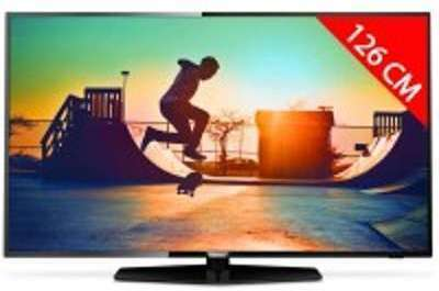 TV LED 4K 126 cm PHILIPS 50PUS6162