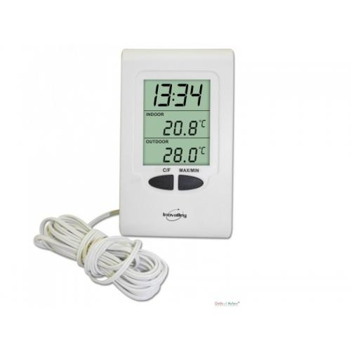 Cat gorie thermom tre de maison du guide et comparateur d 39 achat - Thermometre interieur maison ...