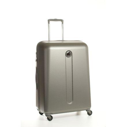 delsey valise trolley rigide 4 roues 69 cm gris synt. Black Bedroom Furniture Sets. Home Design Ideas