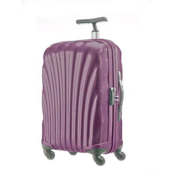 samsonite valise cabine rigide 4 roues cosmolite 55 cm curv. Black Bedroom Furniture Sets. Home Design Ideas
