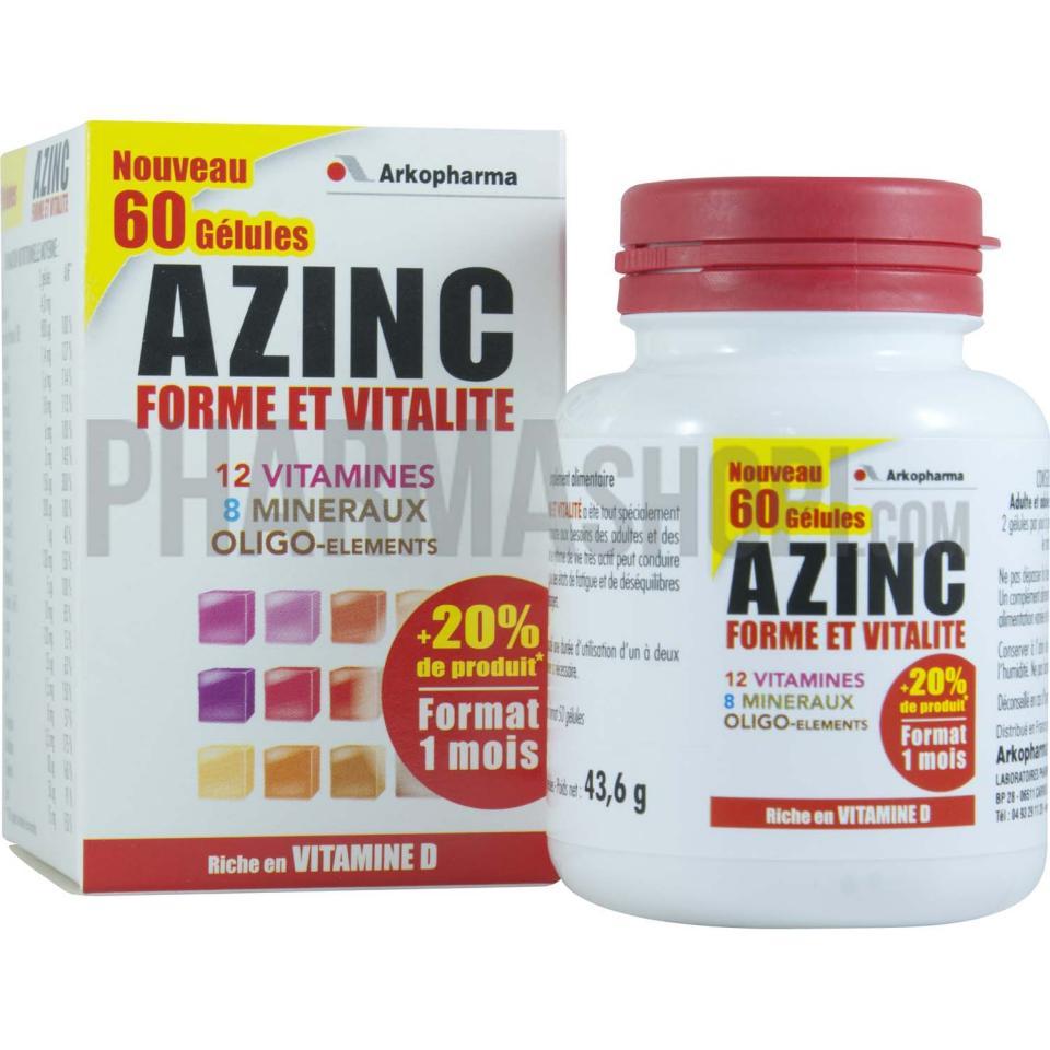 arkopharma c azinc forme et vitalit catgorie vitamines. Black Bedroom Furniture Sets. Home Design Ideas