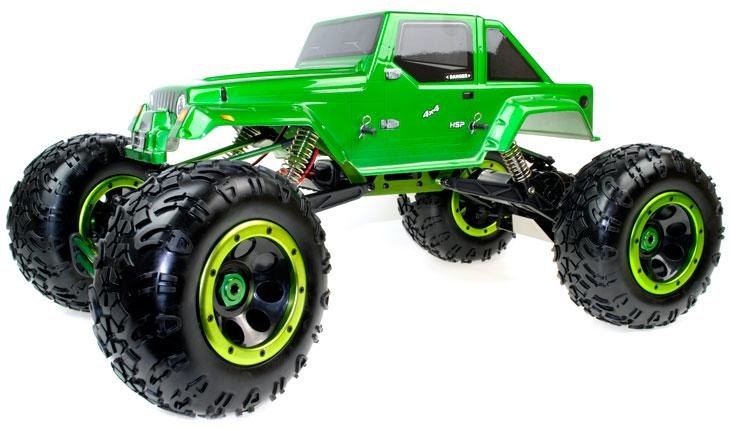hsp 1 8 radio controlled off road rock crawler 2 4 ghz. Black Bedroom Furniture Sets. Home Design Ideas