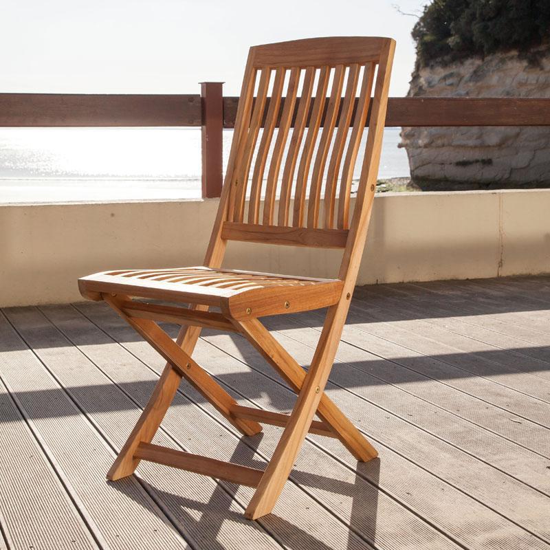 Catgorie chaise de jardin page 3 du guide et comparateur d - Chaise pliante teck ...